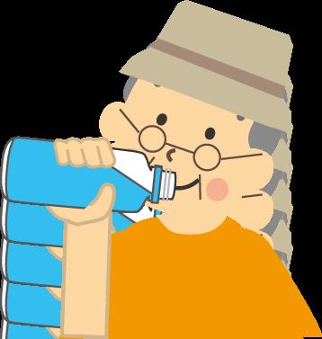 熱中症対策と経口補水液
