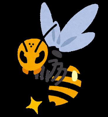 蜂に刺された際の対処法